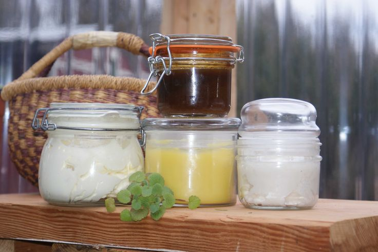 Homemade personal care products. Photo by Patti Long, FarmMade.