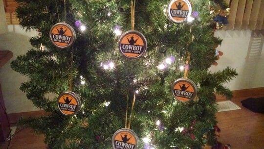 Cowboy Coffee Chew Christmas Tree