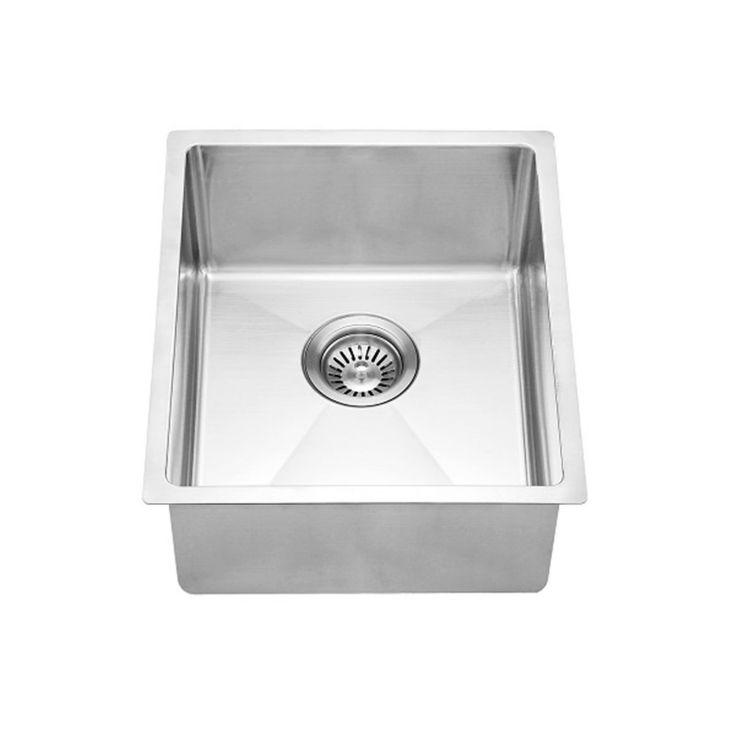 Dawn BS131507 Undermount Single Bowl Stainless Steel Bar Sink   BS131507