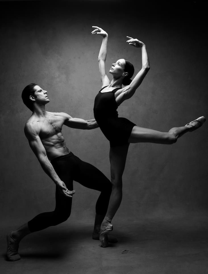 Marcelo Gomes and Diana Vishneva photographed by Patrick Demarchelier