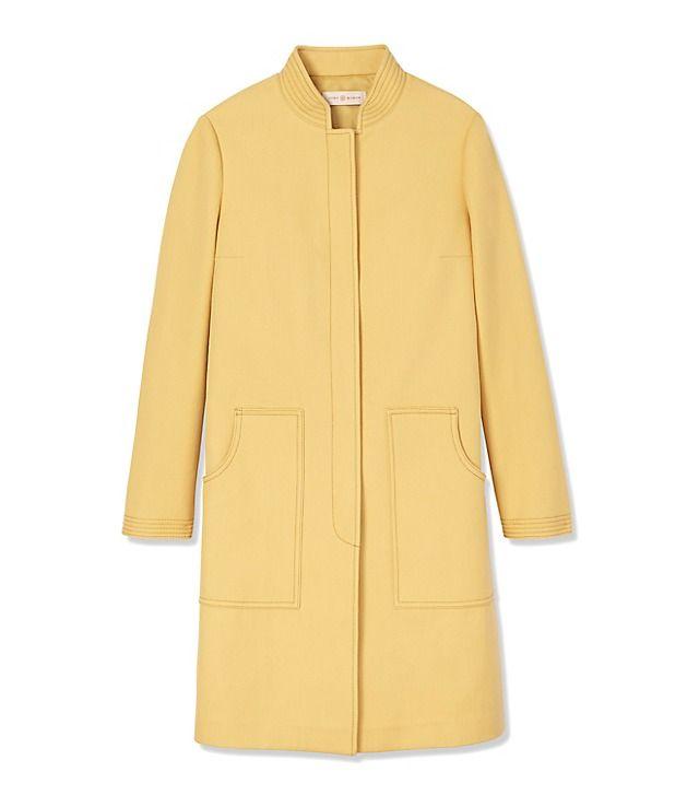 Tory Burch Double-Weave Cotton Coat   Beautiful Fashion Coats   Pinterest 93c65cb837