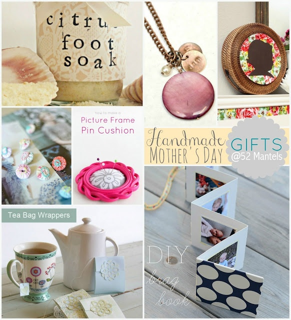 Handmade Mothers Day Gift Ideas Gift Giving Pinterest