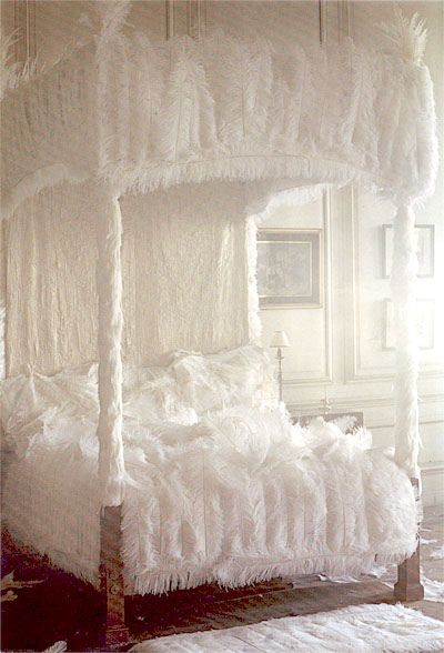 It's a feather bed!