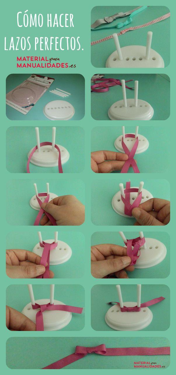 Tutorial DIY - Cómo hacer lazos perfectos by @MpMmanualidades