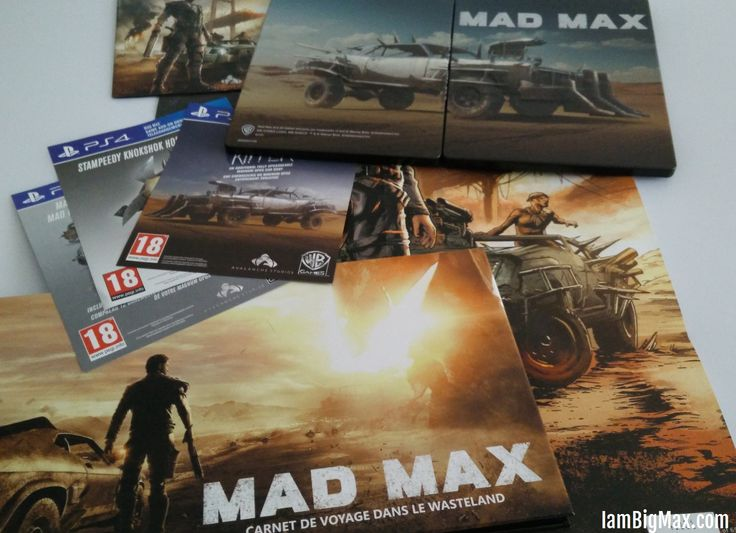 [unboxing] Mad Max – Ripper Edition & Artbook (PS4)