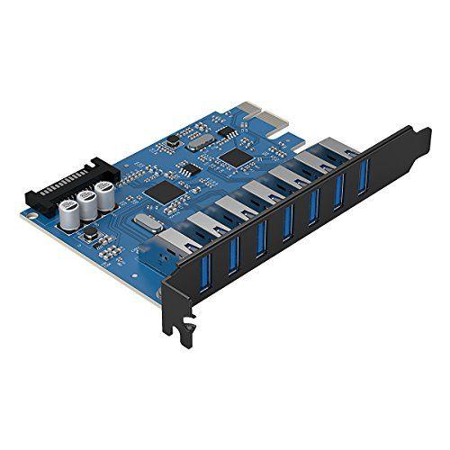 #Sale ORICO #USB 3.0 #Karte  #USB #Controller  7 Ports  PCI #Express PCIe Adapter  Schnitts...  #Sale Preisabfrage / ORICO #USB 3.0 #Karte, USB-Controller, 7 Ports, PCI-Express PCIe Adapter, Schnittstellenkarte #mit 15-Pin SATA Stromanschluss, Hochgeschwindigkeits 5Gb/s #Max, #fuer Windows 10 8 7 Vista #XP Desktop-PC #Computer  #Sale Preisabfrage   Ausserordentliche #Struktur Dies #ist #eine PCI-Express-Karte 7 * High-Speed-USB 3.0-Schnittstelle #erweitert, #wenn #Sie #mehrer