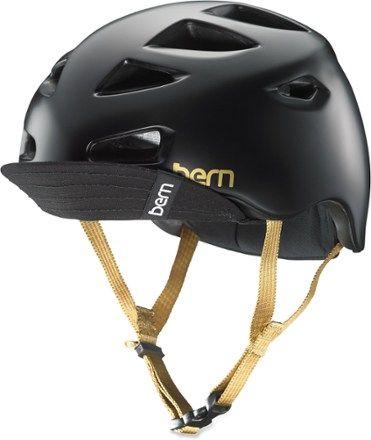 Bern Women's Melrose Bike Helmet Satin Black ...