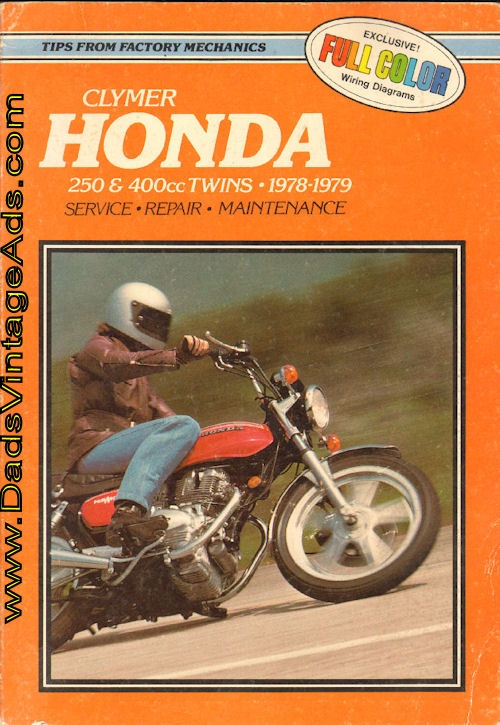 Motorcycle Repair Manual  U2013 1978