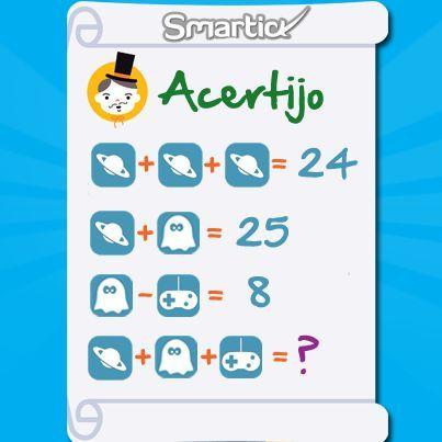 acertijos matematicos - Buscar con Google