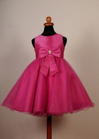"""Φορέματα για Παρανυφάκια - Επίσημα Φορέματα για Κορίτσια :: Καινούριο Σχέδιο 2015 Παιδικό Φόρεμα σε Φούξια για βάφτιση, Παρανυφάκι, Πάρτυ """"Rosemary"""" - http://www.memoirs.gr/"""
