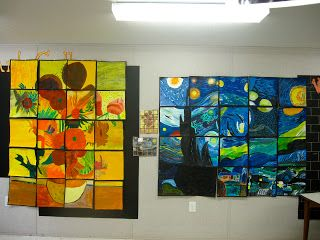 Van Gogh group art project