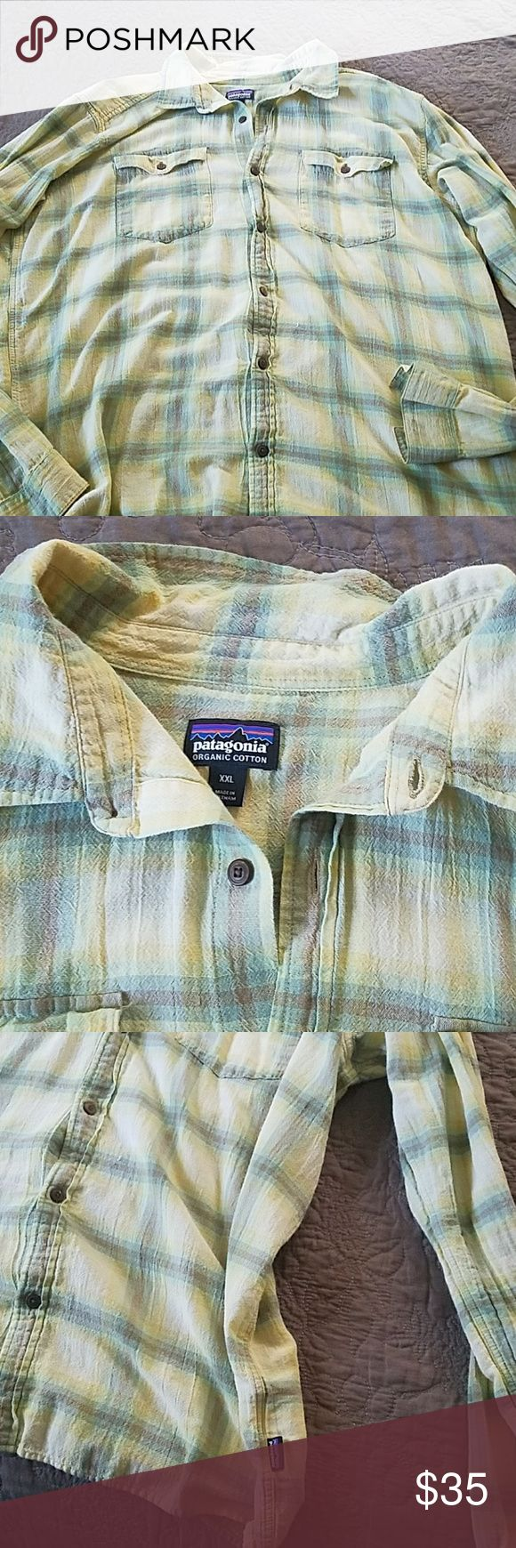 🌲Patagonia Button Down Shirt New🌲 New Patagonia shirt. Shirt is very similar to the A/C shirt in long sleeves Patagonia Shirts Casual Button Down Shirts