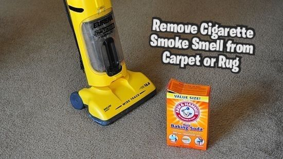 'How to Remove Cigarette Smoke Smell from a Carpet or Rug...!' (via wikiHow)