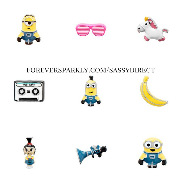 Origami Owl Minion Charms are here! Click to shop the entire Origami Owl Minion Collection. New Minion Locket, Minion Bracelet Jewelry, and Minion charms! Email kristy@foreversparkly.com for a free gift!