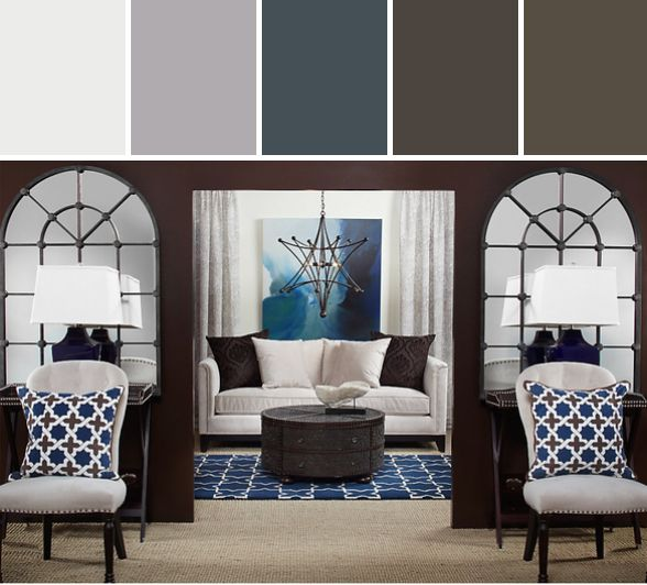 Summertime Blues   Contemporary   Living Room   Z Gallerie Part 95