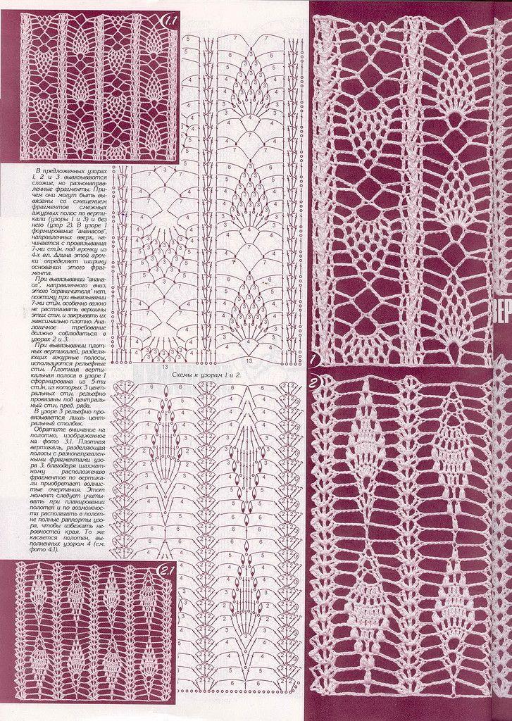 The 263 best Häkelmuster Openwork / crochet patterns stitches images ...