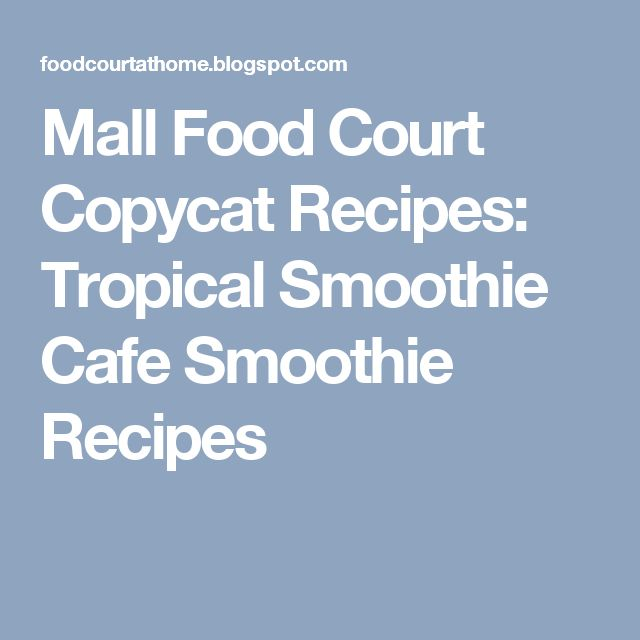 How To Make Smoothie King Angel Food Smoothie