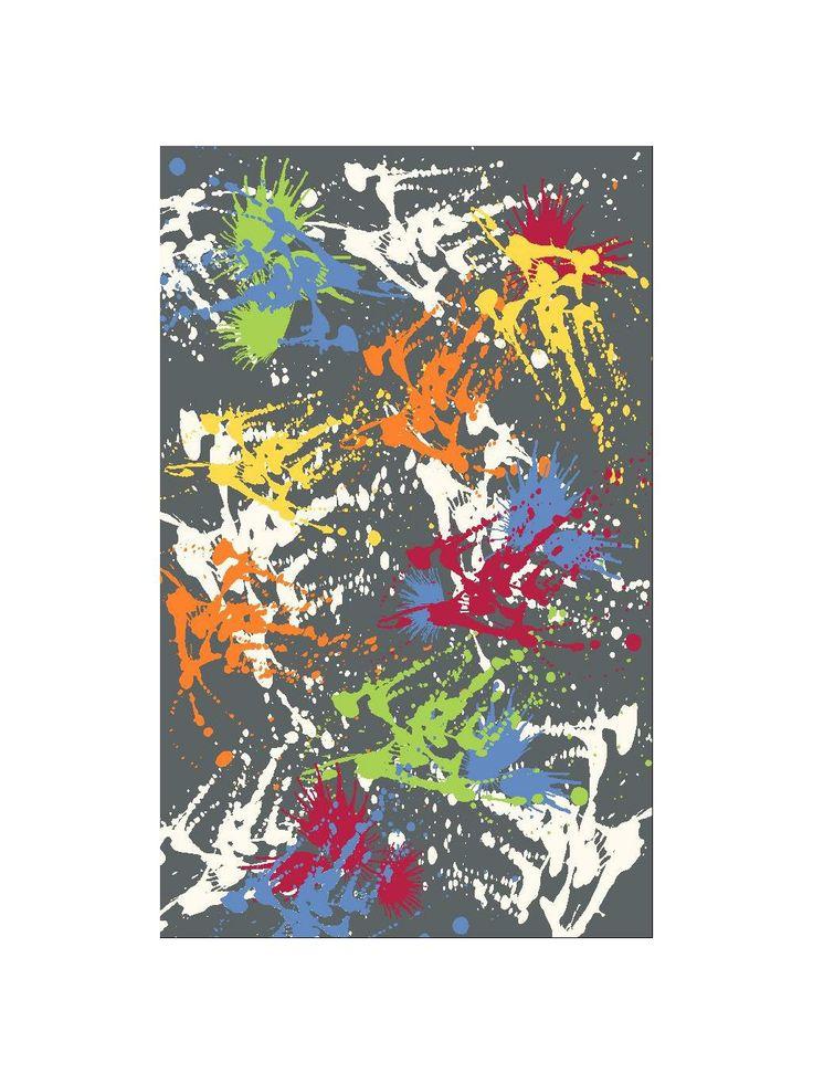 Der benuta Pop Art Splash ist moderne Kunst für den Boden. Sein unkonventionelles Design lässt den schicken Teppich wirken, als wäre er mit bunten Farbspritzern überzogen. Er macht sich perfekt im Jugendzimmer und allen anderen Räumen, in die man gerne einen Schwung Farbe und Originalität bringen möchte. Er vollständig aus Polypropylen, ist daher leicht zu reinigen und bietet ein hohes Maß an Belastbarkeit #benuta #teppich #interior #rug #popart