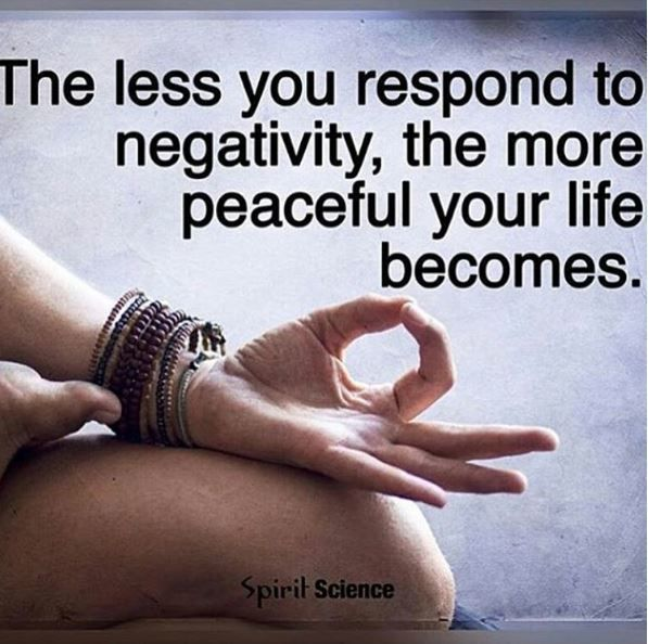 My life is so blessed and peaceful without those negative, hypercritical people in it. ✌️