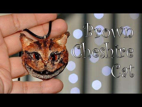 ▶ Modelinowy Kot z Cheshire / Polymer clay Cheshire Cat [TUTORIAL] - YouTube