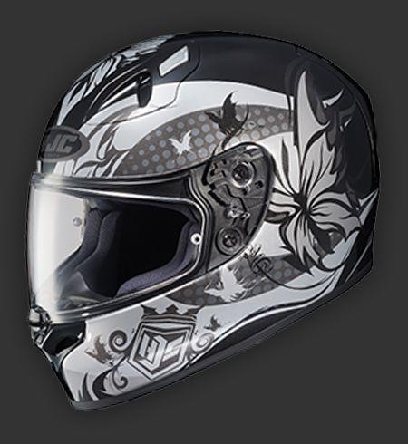 Favorite helmet that I've found so far.  FG-17 Flutura in Black - hjc helmets.com