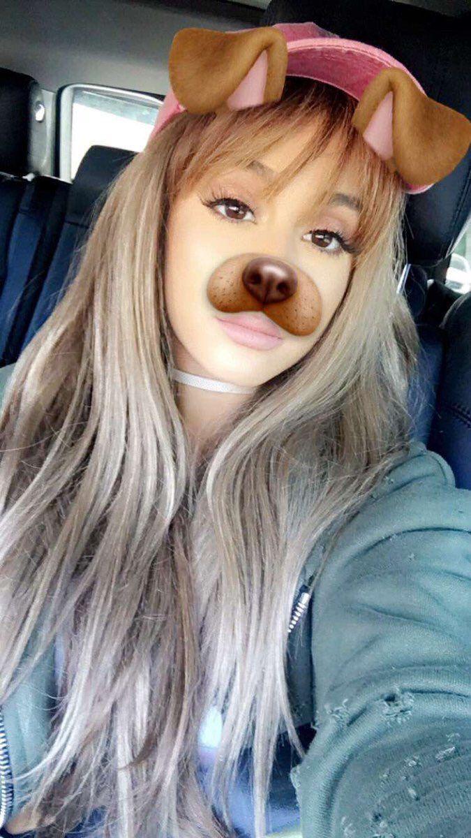 Ariana Grande  snapchat  ariana grande  Pinterest