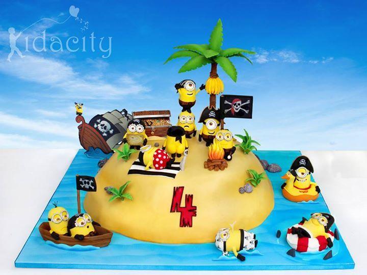 267 best Minion Cakes images on Pinterest Minion party Fondant