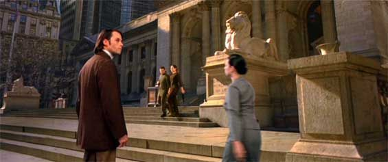 The Time Machine Film Locations - On the set of New York ...