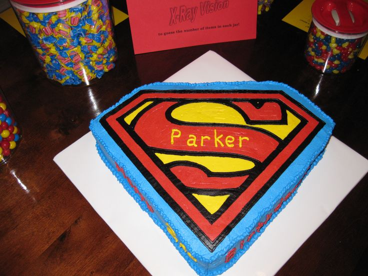 superman birthday cake - Bing Images