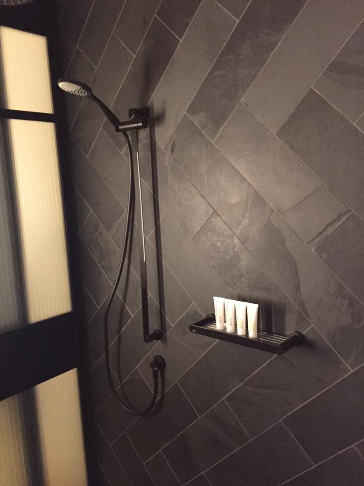 Hotel Room Bathroom Shower