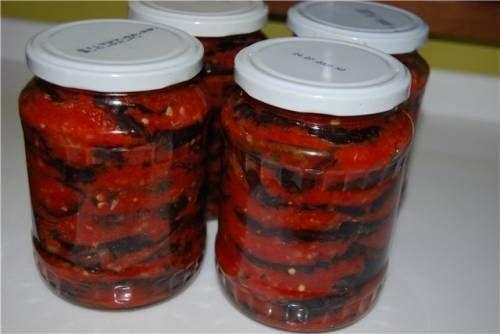 Баклажаны на зиму по-херсонски - рецепт с фото / Простые рецепты