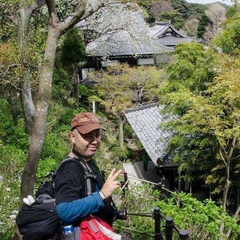 Foto en #kamakura. . . #japan #backpacker #instagram #iphone (en Santiago, Chile)