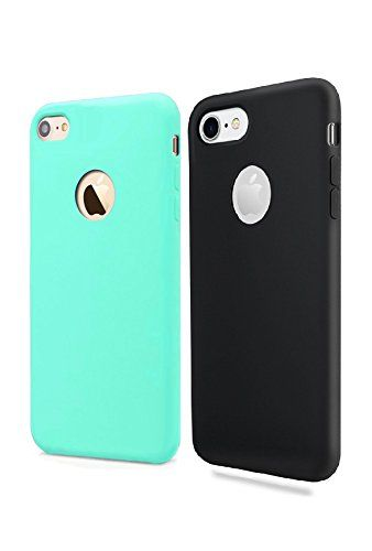Iphone 7 Case - Apple iPhone case for Men & Woman - Silicone Gel Rubber Shockproof Case for iPhone 7 - FREEGIM