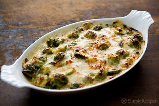 brussels sprouts gratin horizontal