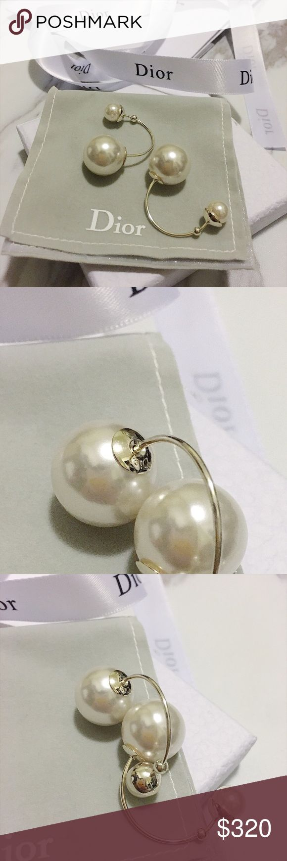 💯Dior Tribal earrings Brand new , comes with box Jewelry Earrings
