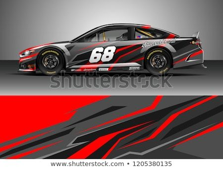 Graphic Design Racing Car