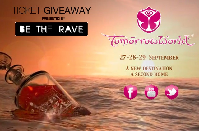 Be The Rave is giving away a ticket to TomorrowWorld!!! Enter here: http://betherave.com/ticket-giveaway-tomorrowworld-2013