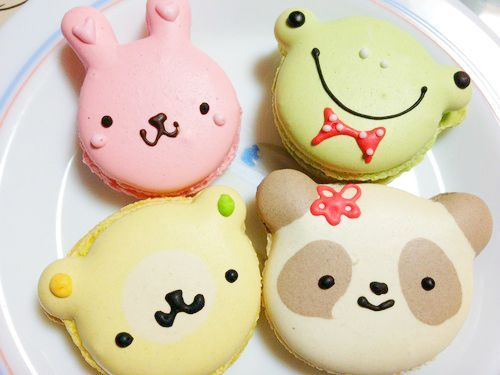 Cute Animal Macarons | Desserts | Pinterest | Macaroons ...