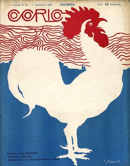 Le cocq national symbol francais..: but red white & blue = the Dutch national flag.  France = bleu,blanc,rouge!