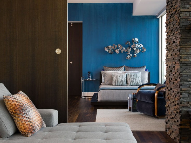 1000 Images About Colors Blue Accent Wall On Pinterest