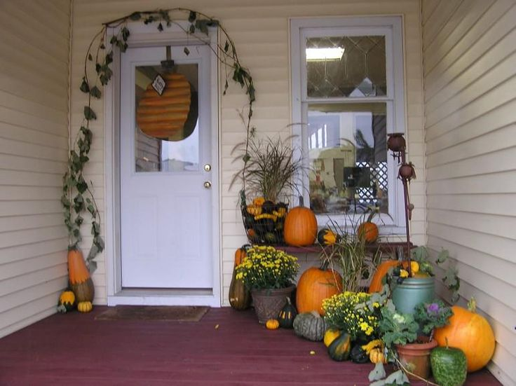 decorating landscape designs front yard front door halloween decor decorated wreaths ideas beautiful fall front door - Decorating Front Door For Halloween