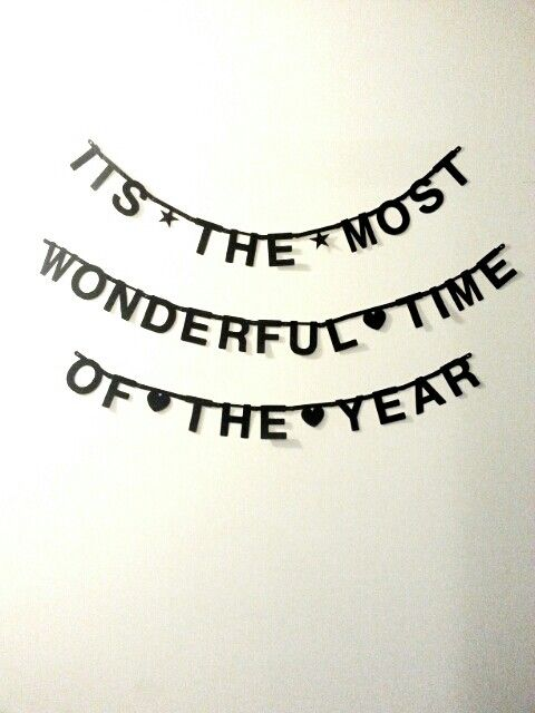 #Wordbanner #tip: It's the most wonderful time of the year - #Christmas - #Kert - Buy it at www.vanmariel.nl - € 11,95