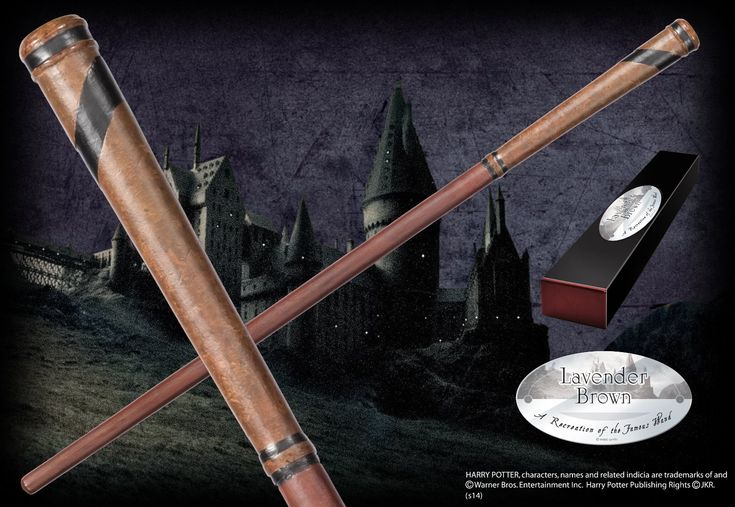 Lavender Brown's Character Wand - The Noble Collection