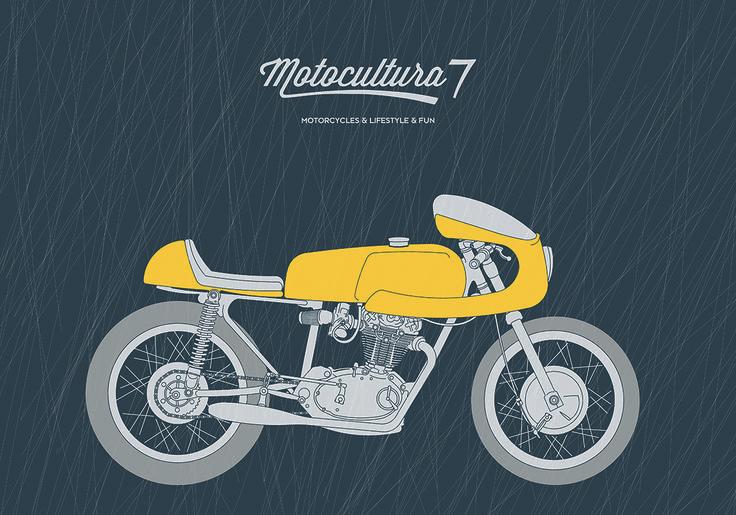 Vintage Ducati Cafe racer Motocultura7