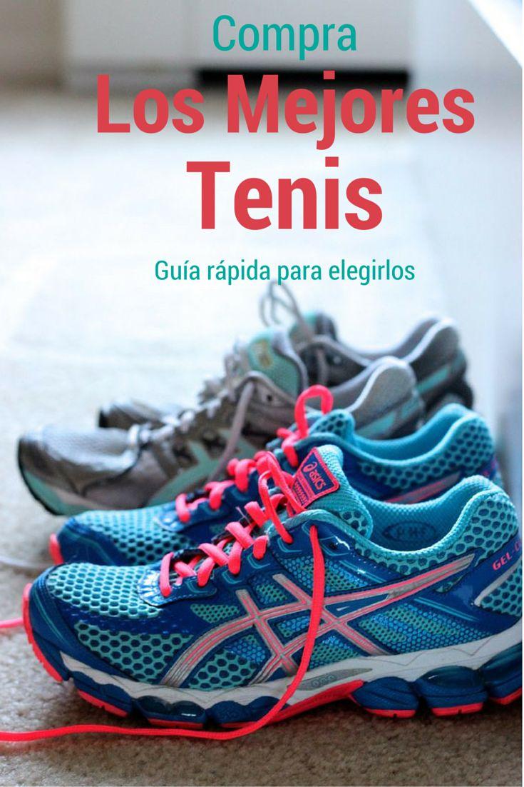 3 cosas que tienes que saber para elegir los mejores tenis para correr.