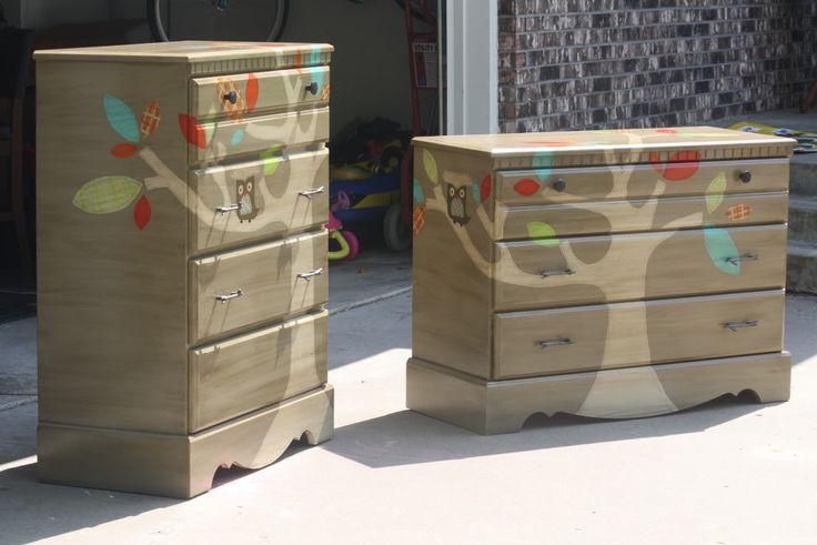 DIY Hand painted Children's Furniture