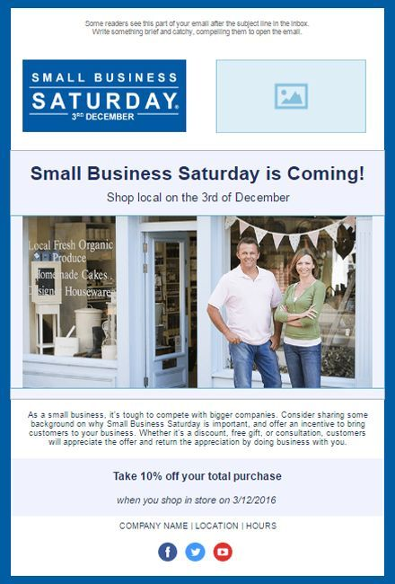 Best Small Business Saturday Images On   Email