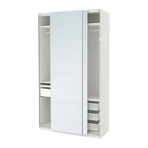 Ikea kleiderschrank schiebetüren spiegel  Die 25+ besten Pax schiebetüren Ideen auf Pinterest | Pax türen ...