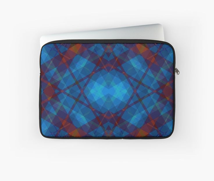 Kaleidoscope Laptop Sleeve by scar Design #kaleidoscope #laptopsleeve #laptop #techgifts #giftsforhim #gifts #laptopgifts #geek #nerd #geekgifts #laptopcase #buycases
