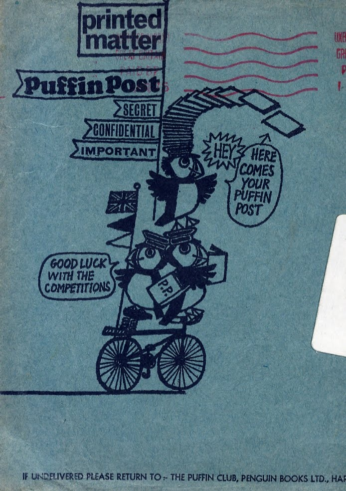 Puffin Post envelope.